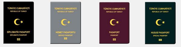Türkiye Cumhuriyeti Pasaportu